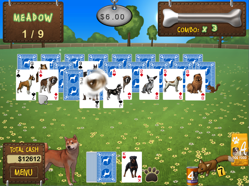 Best in Show Solitaire Screen shot