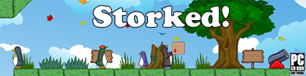 Check out our Penguin Puzzle Platformer - Storked!